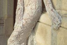 Ohromující svatební šaty