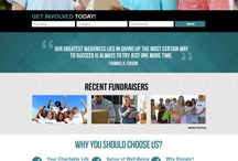 FundRaising Website Design Templates