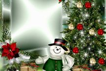 Vianoce rámik