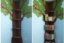 reading nook mural ideas