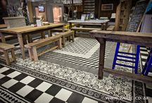 Moroccan Inspired Concrete Tiles / Our Moroccan Inspired handmade Concrete Tiles will change any ordinary space into something worth looking at.