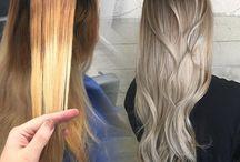Brassy blonde