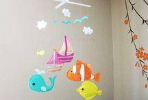 Moře / Tvoření s mořskou tématikou ap.
