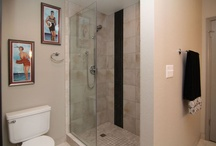 Masterbath tub to shower conversions / People are busy and many of our clients decided they didn't need a tub when they wanted to remodel their bathrooms. Instead, we have done many tub-to-shower conversions.