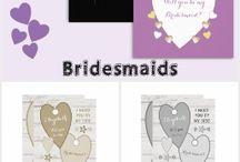 Zazzle ~ Bridesmaid Cards