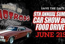 9th Annual Summar Car Show! / June 21st! Be there or be square! 9am - 2pm House of Hotrods http://txhouseofhotrods.com