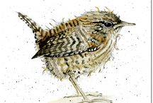 Garden birds on Folksy / A selection of handmade garden birds, from sculpture to artwork, for #folksyfriday  https://folksy.com