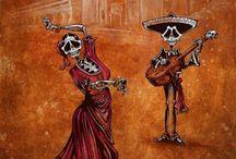 MEXICAN CALENDAR ART / by Marisabel Almeyda