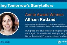 Annie Award Winners & Nominees of 2016 / Sheridan grads and student recognized for their excellent work in animation.