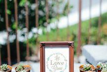 Backyard, Outdoors, and Picnic Bridal Showers / Bridal shower inspiration for backyard, outdoor, or picnic themes.