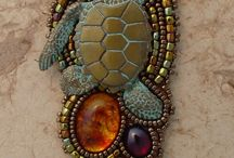 JEWELRY:  Beaded Embroidery / by Marsha Ross