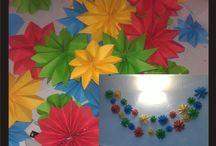 decoración salón de clase