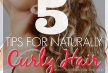 15. Curly Hair / by Katie Allen