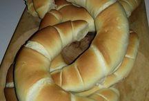 Kifli, kenyér, zsemle