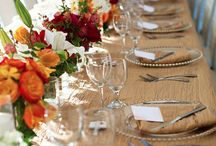 Place Settings / Place Setting Ideas: Menus, Napkins, Silverware, Chargers, Favors, Place Cards & Thank You Cards