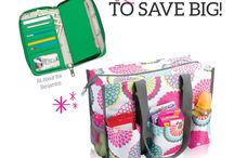 Bag Lady - January Customer Special / Spend just $35 and get either the Zip Top Organizing Tote for $10 or All the Benjamins Wallet for $20 Learn more at: www.mythirtyone.com/31Wendy31