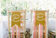 chair decoration wedding