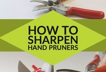 Pruners How to Sharpen