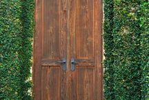 Doors, Porches, Curbs, Walls... / by Tara Wells