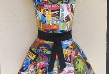 Kitchen apron / by Aprons By Vittoria
