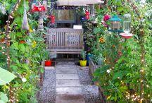 Malins trädgård