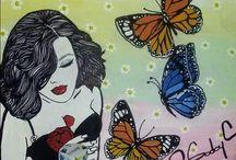 Dibujos mariposa isa