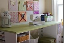 Craft room!  / by Elisa Sands