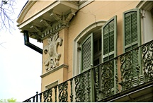 Historic New Orleans Homes and The Details / Historic homes in and around New Orleans
