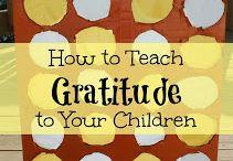 Happy Kids - Gratitude / by Christine Deadman Moers