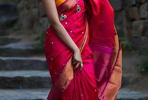 Silk Sarees / Collection of silk sarees
