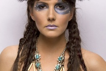 Student Work / Hair, Make-up, Styling, and Nails all done by the creative students at Aveda Institute Portland