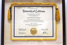 Diplomas and Awards / Accomplishments deserve a place of honor on your walls. Frame them to last a lifetime with conservation grade materials.