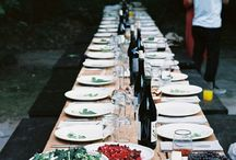 italian wedding outdoor dinner
