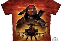 Indiános The Mountain pólók