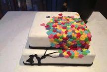 Torta dolcissima / Coi cuoricini colorati