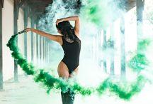 Fotografia con humo