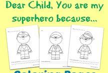 Super Hero Themed