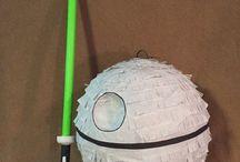 Silas' Star Wars bday party