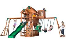 Garden Swing / Wooden and baby Garden Swings sets and plans reviewed with canopies, cushions, and chairs. Get swinging in your garden with these best garden swings. - http://plantedwell.com/garden-swing/