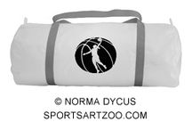 Basketball Items - Female / Items with female basketball themes.