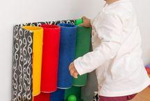 Atividades sensoriais Montessori