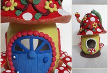 Air dry Clay Fairy House