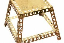 Artistic Furniture / Artistic designer, handpainted recycled furniture to give touch of creativity to your home