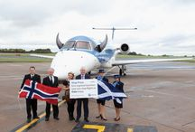 Aberdeen - Oslo new route launch / October 2013