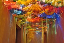 Chihuly / Glass sculpture