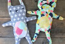 DOLL- Peluches, fabric and cute stuffs