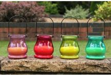 Garden Party Decor / Pop some PK Green into your garden party, filling your outdoors with magical lights and vibrant colours.