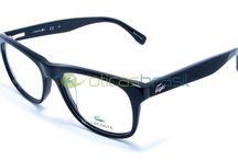Lacoste / Fundada em 1933 pelo tenista René Lacoste, a marca é sinônimo de bom gosto e qualidade. Mais uma referência no mercado da moda que estendeu sua assinatura ao mercado de óculos.