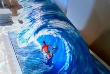 3d cake wave