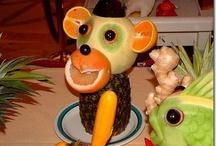 Fruit and veg animals